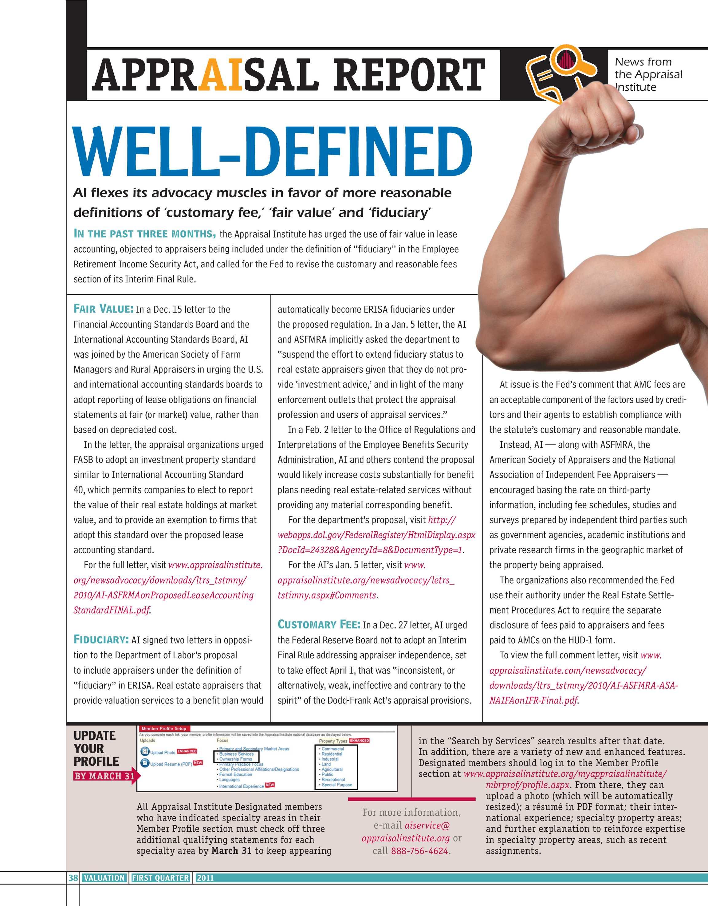 Valuation 2011 1st Quarter - page 38